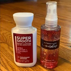 (Unopened New) bath and body works duo